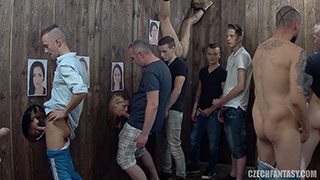 Czech amateur glory holes